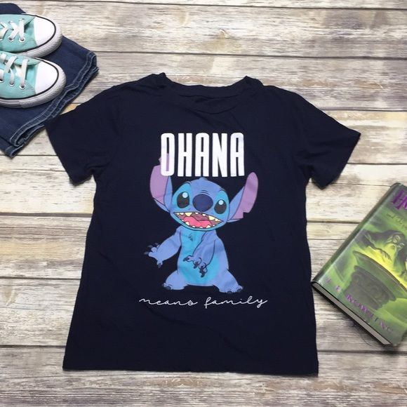 Women/'s All Sizes Stitich in a Pocket T-Shirt Lilo And Stitch Disney Tee